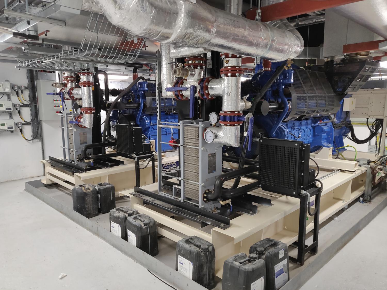 Bells Power Solutions generator installation Cannon Street London