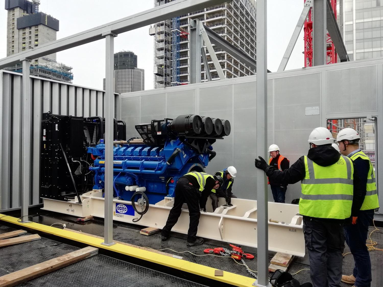 bells city power generator london